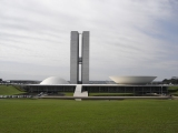 National Congress of Brasil by Oscar Niemeyer